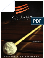 Resta Jay Percussion 2013 Chinese Catalog (Chieh-Percussion)