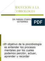 1. Introduccion a La Psicobiologia