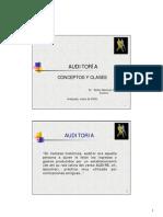 01-CONCEPTO Y CLASES DE AUDITORÍA