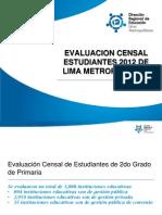 ECE Lima Metropolitana