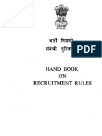 Hand Book on RRs