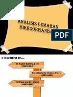 Analisis Cemaran Mikroorganisme