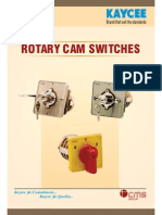 Rotary Cam Switch