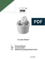 Maszyna do lodów  MIA