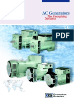 Crompton Greaves Generator Drawing