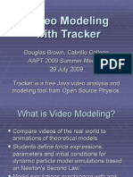 Tracker Modelling