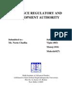 Irda Report