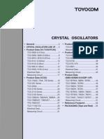 Toyocom Cristal Oscillators