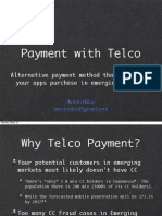 Telco Payment for Startup companies