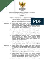 PMK_49-2012_Revisi DIPA2012