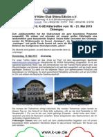 Programm 10.K-UE-KŠfertreffen C hiemgau -Jubiläumstreffen_1_