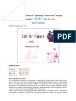 Ijeset Call for Paper Journal