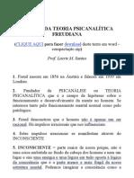 TÓPICOS DA TEORIA PSICANALÍTICA FREUDIANA