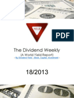 Dividend Weekly 18_2013