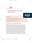 Psychoanalysis Theory and Practice