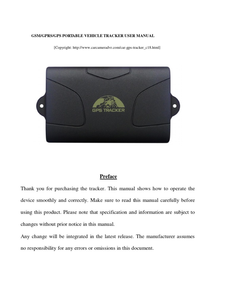 gps104 gps tracker user manual general packet radio service rh es scribd com gps tracker manual tk303 gps tracker manual tk104