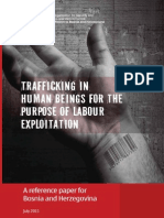 OSCE Trafficking in Humban Beings for the Purpose of Labour