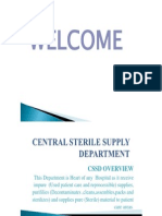 Central Sterile Supply Department