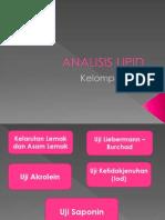 Analisis Lipid