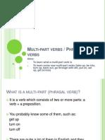 Lesson 6 - Phrasal Verbs