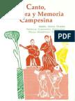 Canto Palabra y Memoria Campesina