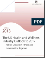 Escalating Demand For Branded Cosmetics Products to Supplement Growth in the UK Health and Wellness Market