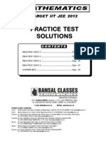 Rt Solutions-Practice Test Papers XIII VXY 1 to 6 Sol