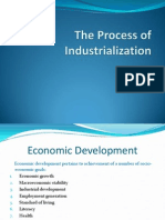 The Process of Industrialization (1947-58)