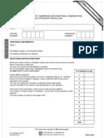 Add Math 2012 Paper 1