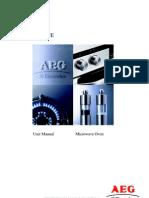 Microwave AEG user manual