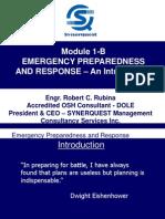 Module 1-B Emergency Preparedness