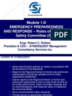Module 1-D Emergency Preparedness