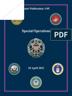 Joint Publication 3-05, Special Operations, 2011, uploaded by Richard J. Campbell