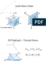 Triaxial Stress State
