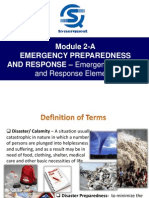 Module 2-A Emergency Preparedness