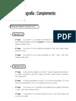 IV Bim. 4to. Año - LENG. - Guía Nº 4 - Ort. Complemento - 20