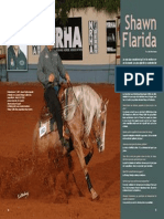 Interview of NRHA 4 million dollar rider Shawn Flarida