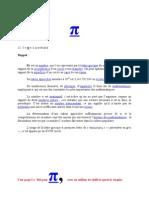Mathématiques pi (π) (1 million de chiffres après la virgule)