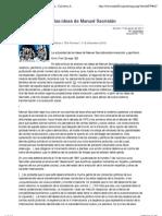 "La actualidad de las ideas de Manuel Sacristán - Col·lectiu Antimilitarista de Sant Cugat (CASC)"""