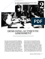 Designing Authentic Assessment