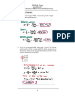 Fe Review Fluids Practice Problems Spring 2013