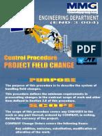 END-3-004 Project Field Change