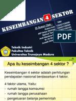 keseimbangan 4 sektor