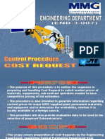 END 3 007 Cost Request