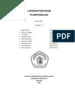 laporan praktikum planktonologi
