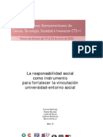 La Universidad y la Resonsabilidad Social