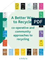 A Better Way to Recycle - Co-operative and Community Approaches to Recycling