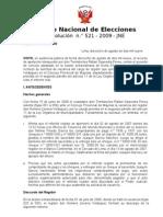 Vacancia de Regidor - Resolución del JNE