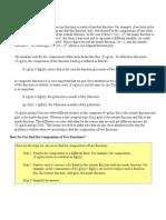 Composite Functions Intro