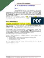 Manual de Uso Proyectos Conspea Srl (Peru)